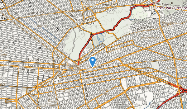 trail locations for Highland Park