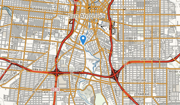 trail locations for Roosevelt Park