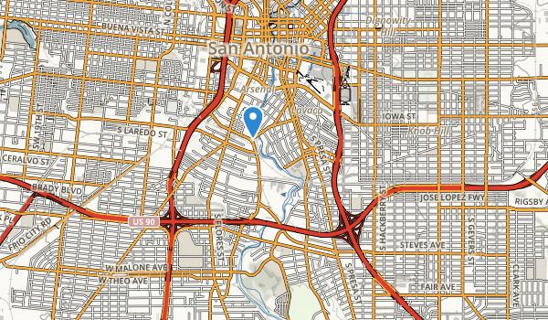 Roosevelt Park Map