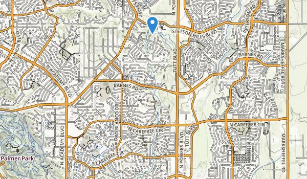 Homestead Park Map