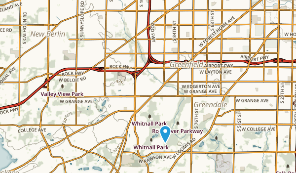 Root River Parkway Map
