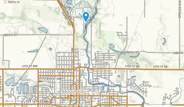 East Park Map