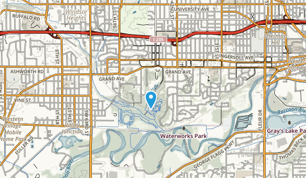 Greenwood Park Map