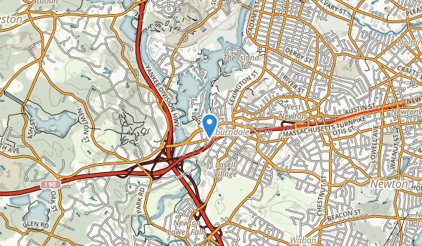 Lyons Park Map