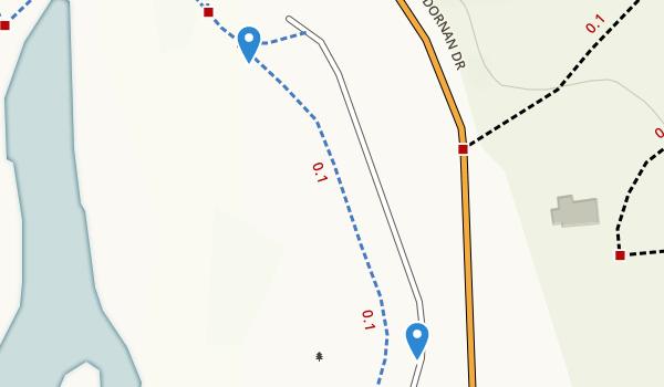 Miller/Knox Regional Shoreline Map