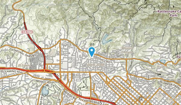 Stevens Park Map