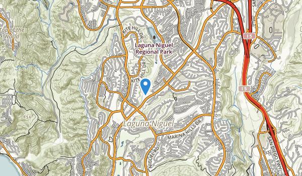 trail locations for Sulphur Creek Park