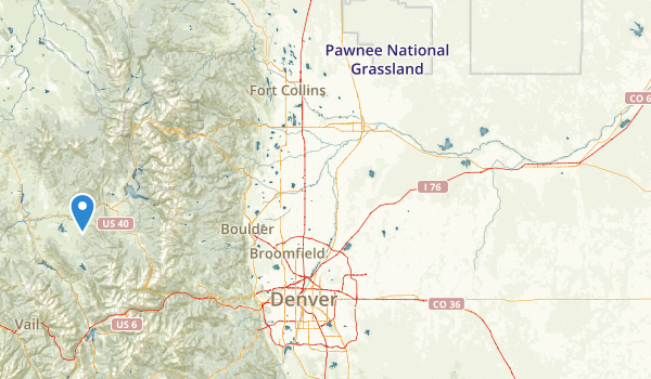 trail locations for Pioneer Park