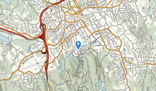 trail locations for Tarrywile Park
