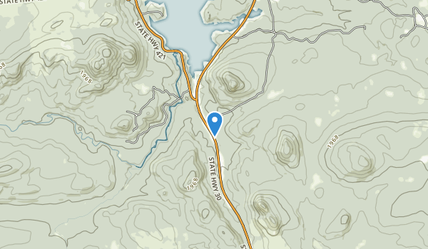 Horseshoe Lake Forest Map