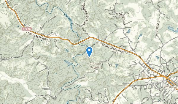 trail locations for Chau-Ram County Park