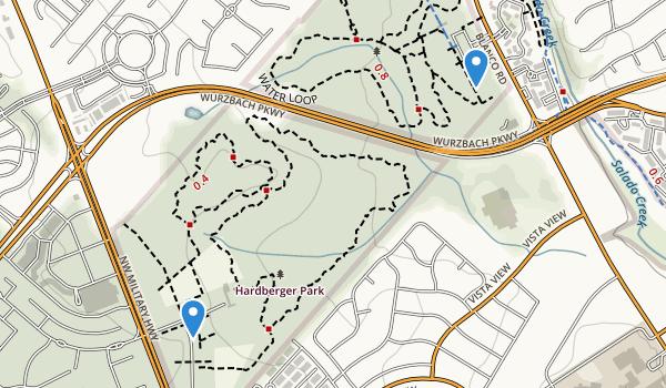 Phil Hardberger Park Map