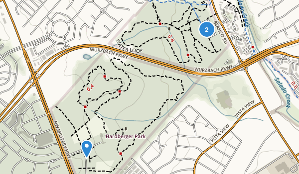 Phil Hardberger Park Map