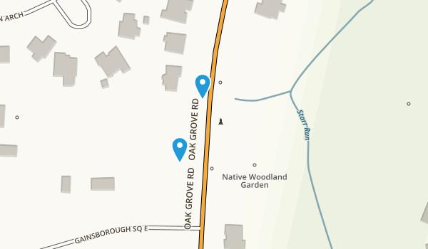 Chesapeake Arboretum Map