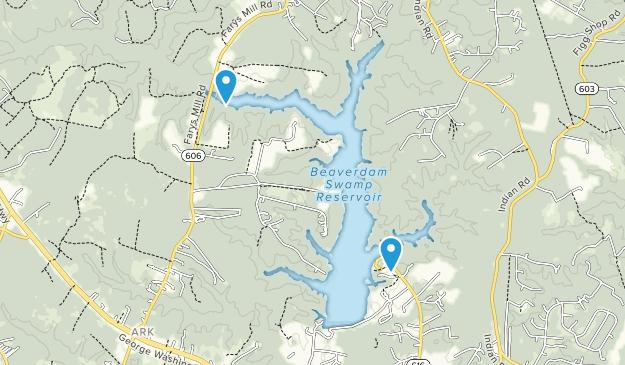 Beaverdam Park Map