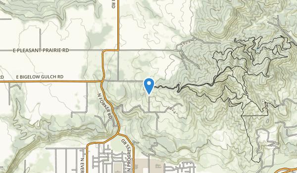 Antoine Peak Conservation Area Map