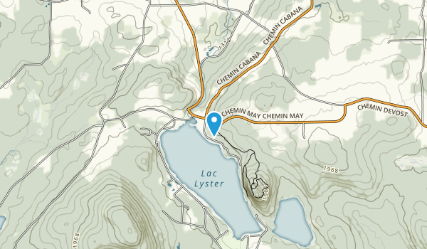 Parc Harold F. Baldwin (Mont Pinacle) 1891 chemin May, Coaticook (QC) J1A 2S4 Map