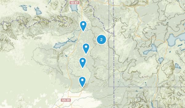 Island Park/Yellowstone Map
