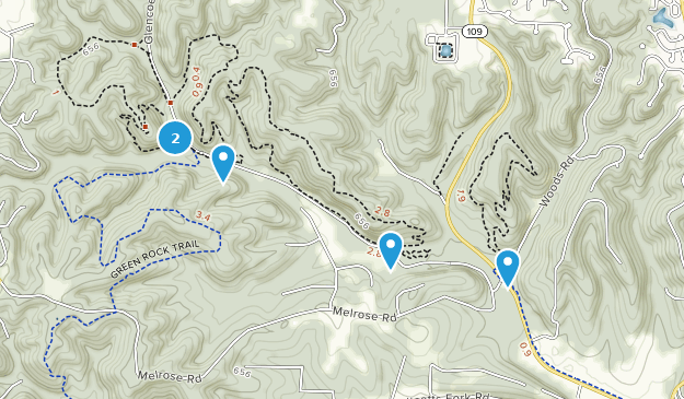 Rockwoods Reservation Conservation Area Map