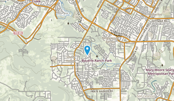 Bauerle Ranch Park Map