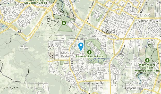 Bauerle Ranch Park Map