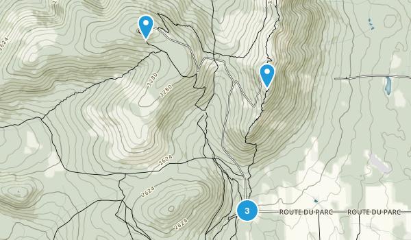 Parc national du Mont-Mégantic Map