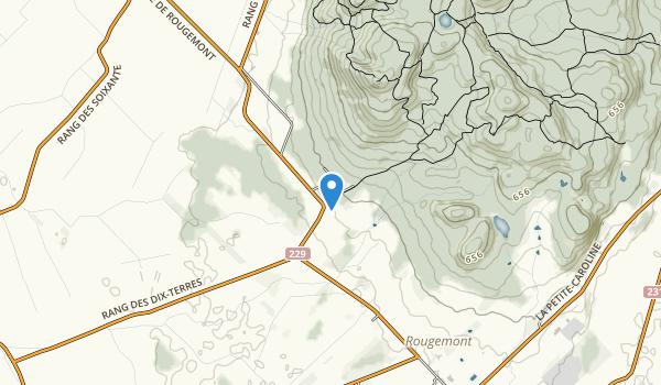 Rougemont Map