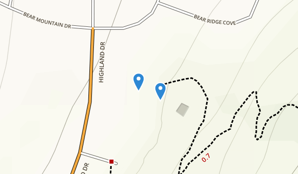 trail locations for Orson Park