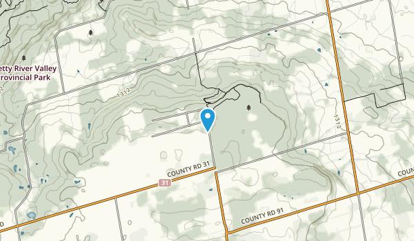 Nottawasaga Lookout Provincial Nature Preserve Map