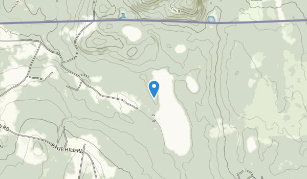 trail locations for Bill Sladyk WMA