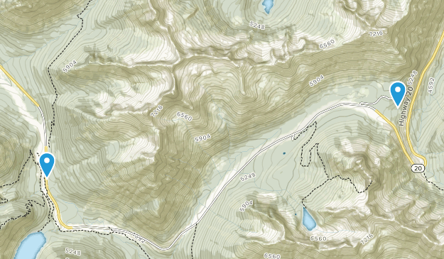 North Cascades Scenic Byway Map