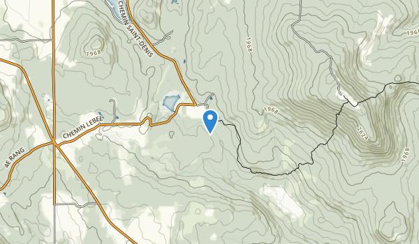 trail locations for Sentier pédestre Neil-Tillotson