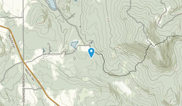 Sentier pédestre Neil-Tillotson Map