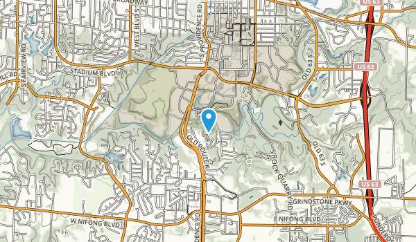 Capen Park Map