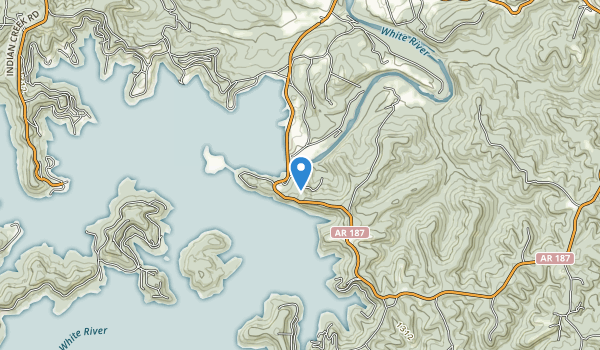 Beaver Lake Area Map