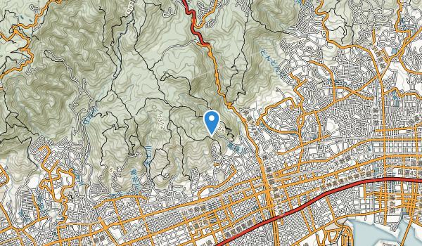 trail locations for Mt. Rokko