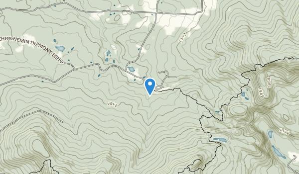 trail locations for MONT ECHO-LES SENTIERS DE L'ESTRIE