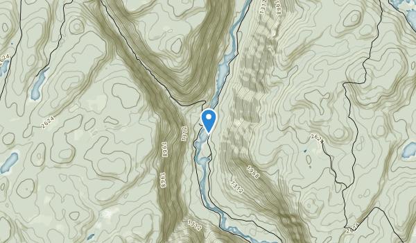 trail locations for Parc National de la Jacques-Cartier