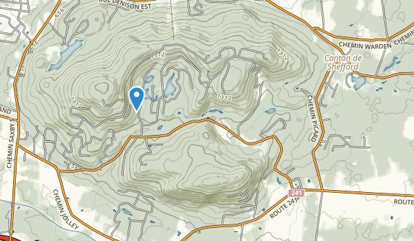 Parc des Montagnards Map