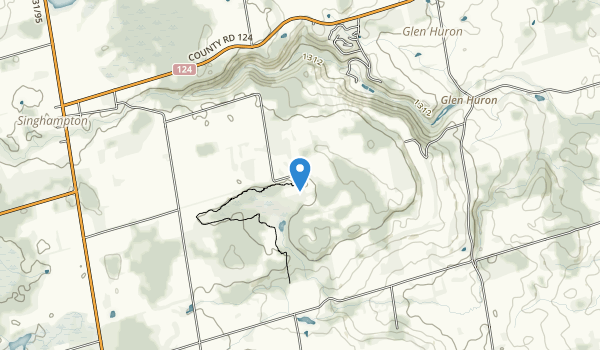 Nottawasaga Bluffs Map