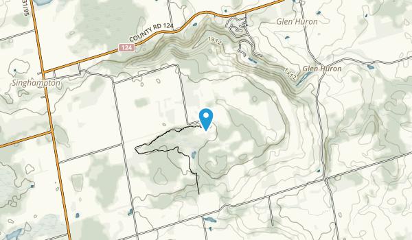 Nottawasaga Bluffs Map