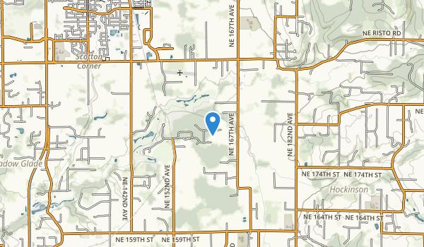 Salmon-Morgan Creek Natural Area Map