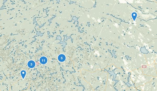 Algonquin Provincial Park Map