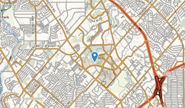 Medical Center Jogging Trail Map