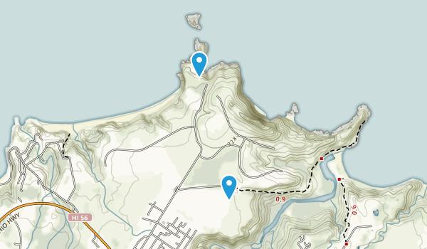 Kilauea National Wildlife Refuge Map