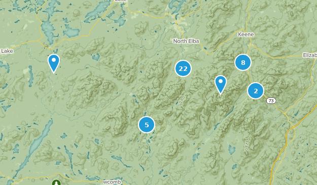 High Peaks Wilderness Map