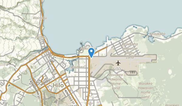 Liliuokalani Garden Map