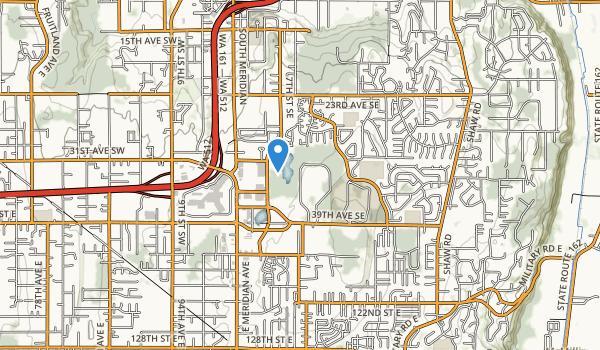 trail locations for Bradley Lake Park