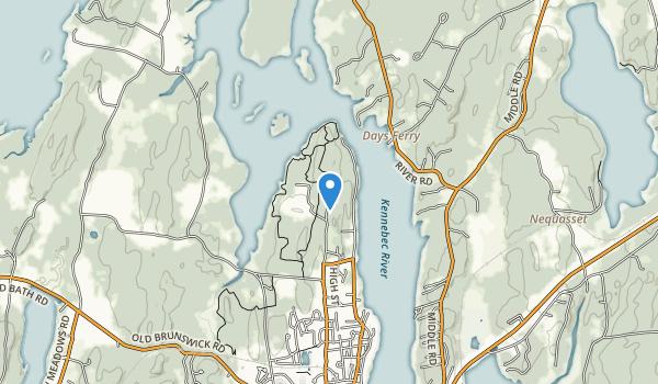 Thorne Head Preserve Map