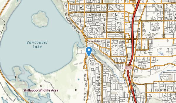 trail locations for Stewart Glen